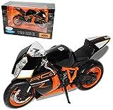Welly K-T-M 1190 Rc8 Rc 8 R RC8R Schwarz 1/10 Motorradmodell Motorrad Modell