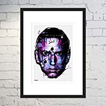 Eminem Artwork / Eminem Print / Eminem Poster / Hip-Hop Art / Graffiti Print / Framed or Unframed / Digital Art Poster / Street Art / Poster