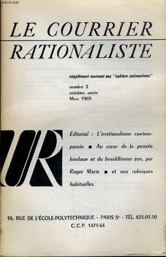LE COURRIER RATIONALISTE n°3 (supplément mensuel aux
