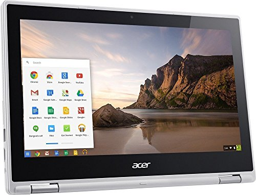 Acer 2018 R11 11.6-inch Convertible HD IPS Touchscreen Chromebook Laptop with (Intel Celeron Dual Core up to 2.48GHz, 4GB RAM, 16GB SSD, 802.11ac, Bluetooth, HDMI, USB 3.0, Webcam, Chrome OS)