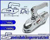 ALBE Berndes Zugkugelkupplung Kugelkupplung Zugrohr Rohr 45mm 46mm EM 150 R A 05345 für Pkw Anhänger