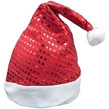 DaoRier 1pc Material de Felpa Suave Navidad Santa Sombrero Feliz Navidad  Sombrero Divertido Para el Partido 72b29925a6b