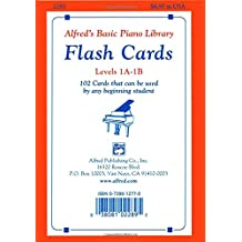 Alfred's Basic Piano Course Flash Cards: Levels 1a & 1b, Flash Cards (Alfred's Basic Piano Library)