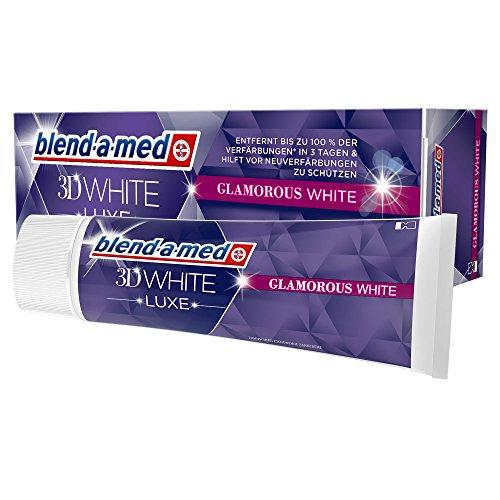 Blend-a-med 3DWhite Luxe Brillantes Weiß Zahnpasta, 75 ml