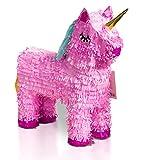 Brynnberg Pinata Einhorn Pink - 57x37cm groß ungefüllt Kindergeburtstag Spiel