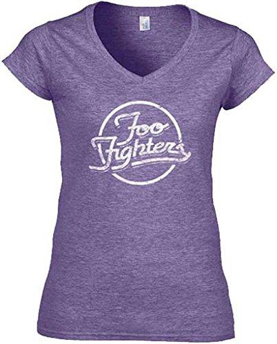 Foo fighters rings junior da donna maglietta