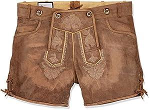 Tannhäuser Tann Casas 0108-8003-44Claire Corta Piel Pantalones, marrón, 44