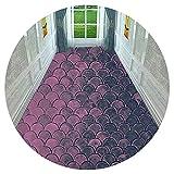 HAIPENG-alfombras pasillo Antideslizante Corredor Entrada para Cocina y Paso Vestíbulo Estera Lavable Durable Personalizado (Color : A, Tamaño : 1.4x6m)