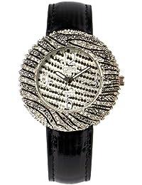 Women'Eton Damen Armbanduhr Analog Kunststoff schwarz 2941J-ZB