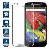 Beiuns Vidrio Templado Protector de Pantalla para Motorola Moto G 2. Generación