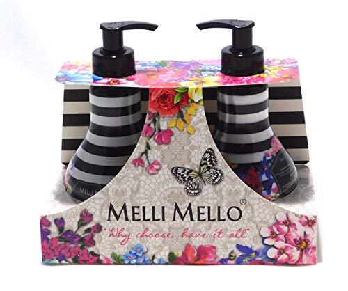 Melli Mello - Geschenkset 2x300ml Körperlotion & Flüssigseife - TESS