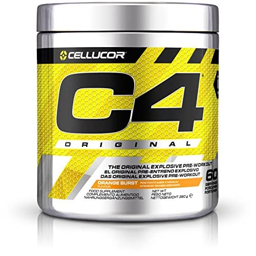 51hRPFDldRL. SS500  - Cellucor C4 Original, Orange, 390 g