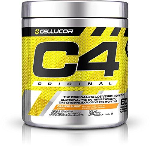 Cellucor C4 Original - Nahrungsergänzungsmittel Pre-Workout - Orange Burst - 60 Portionen -