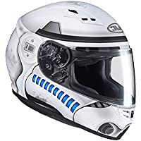 Casco Moto Hjc Star Wars Cs-15 Storm Trooper Mc10 Blanco (M, Blanco