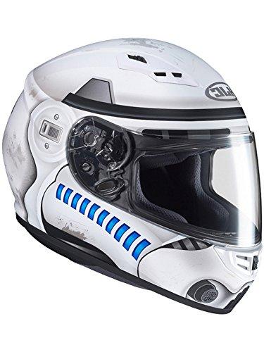 HJC Helmets Casco Moto Hjc Star Wars Cs-15 Storm Trooper Mc10 Bianco (Xxl, Bianco)