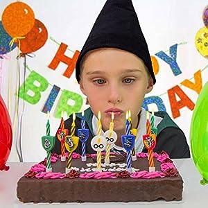 Harry Potter Candles - Set of 10 - Birthday - Cinereplicas