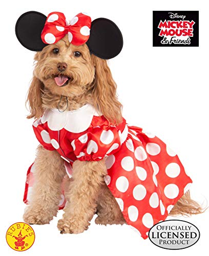 Rubie 's Disney: Mickey Mouse & Friends Pet Kostüm, Minnie Mouse, (Hunde Kostüm Minnie Mouse)
