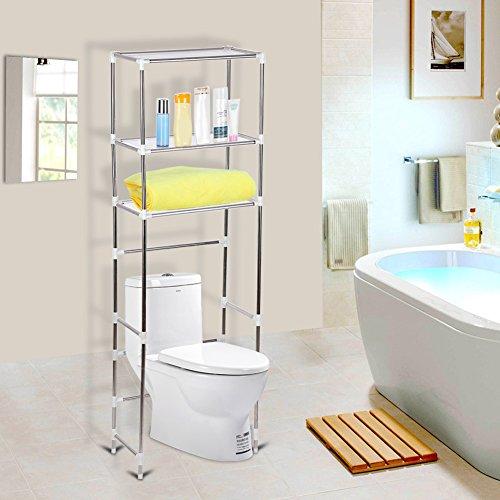 Cocoarm Estantería Baño WC Estantería Auxiliar