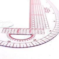Tia-Ve Règle courbe métrique 3en 1en plastique pour la couture