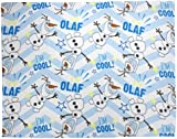 "Character World ""Disney Frozen Olaf"" Fleece Blanket"