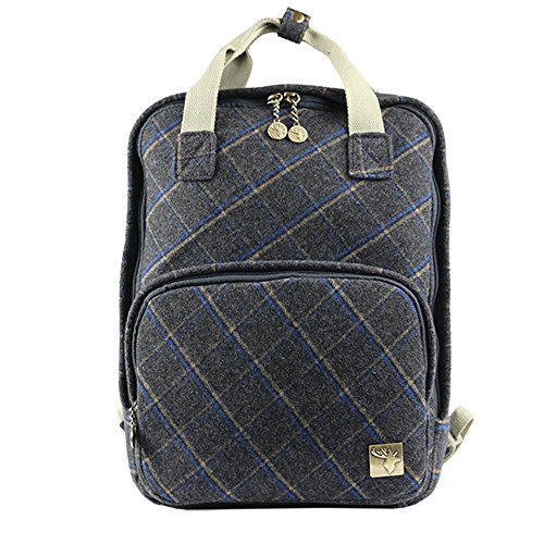 House Of Tweed, Borsa a zainetto donna DARK-BLUE
