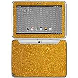 atFolix Samsung Galaxy Note 10.1 (2012 Edition) Skin FX-Glitter-Golden-Fleece Designfolie Sticker