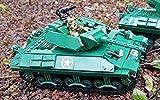 GMC M10 Wolverine Panzer WWII USA Army, Konstruktionsspielzeug Baukasten