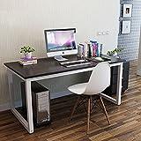 GOTOTOP Bureau Ordinateur Informatique Table PC Meuble Table de Travail Grande...