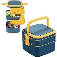 Boîte à Lunch avec Couverts,Lunch Box Enfant Micro Onde,Boîte Bento Lunch Box Adultes,Boîte Bento Enfant,Boîte à Lunch…