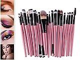 Cdet 20 Pcs Make-up Pinsel Lange Pole Kosmetik Pinsel Für Beauty Augenbürste Schönheitswerkzeuge Augenschattenbürste Augenbrauenpinsel Stiftungsbürste Lippen Bürste
