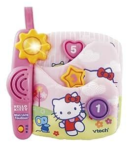 Vtech - 114605 - Jeu éducatif Premier âge - Eveil - Hello Kitty - Livre Toudoux Parlant