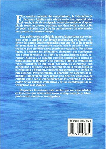 La Educación De Personas Adultas de Emilio Lopez-Barajas Zayas (9 abr 2010) Tapa blanda