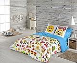 Emoji Funda nórdica Party para cama de 90 cm