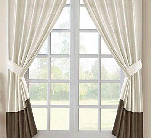 Hotel Park Avenue Fenster Panels mit Raffhaltern, 121,9x 213,4cm-2sets -