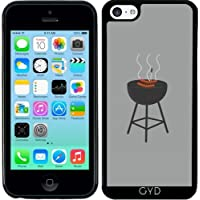 Custodia in silicone per Iphone 5C - Barbecue Con Salsicce by ilovecotton