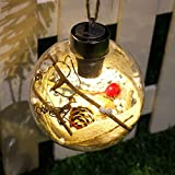 UPXIANG LED Merry Christmas Tree Bulb Light Ball Ornament Xmas Garden Festival Decor (C)