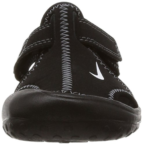 Nike Sandalo Sunray Protect (Ps) Nero (Black/white/dark Grey)