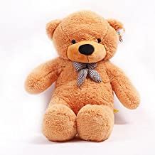 YunNasi Teddy oso gigante de peluche juguete de felpa 120 cm marrón claro