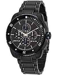 Sector Herren - Armbanduhr 350 Chronograph Quarz Edelstahl R3273903001