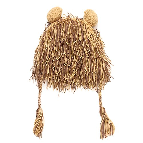 Mütze Beanie Kinder Jungen Mädchen Perücken Ohrenklappe Winterhüte (Zirkus Clown Kleinkind Kostüme)
