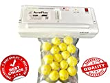 #6: Auro Plus System India Multifuction Vacuum Sealer Easy One-Touch 2-in-1 Fully Automatic Food Saver Sealing Machine with Free Vacuum Pouches
