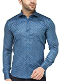 Being Fab Men's Geometric Printed Casual Shirt
