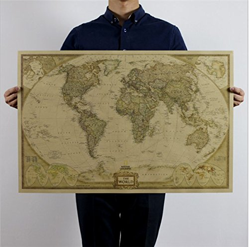 world-map-antique-style-vintage-maps-wall-chart-maxi-poster-wallpaper-7347cm