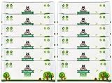 Salviette Pogi per toelettatura Pacchetto di Viaggio - 240 salviette deodoranti per Cani - biodegradabili, Profumo di tè Verde