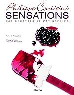 Sensations - 288 recettes de pâtisseries de Philippe Conticini