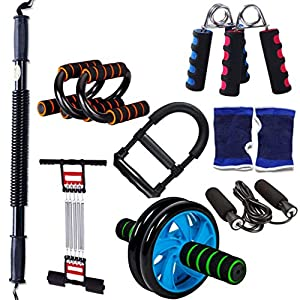 51hRcNQCJtL. SS300  - JSHWH-Q HWH Lose Weight Exercise Equipment, Household Male And Female Arm Abdomen Exercise Equipment Grip Multifunction Puller Suit Multipurpose