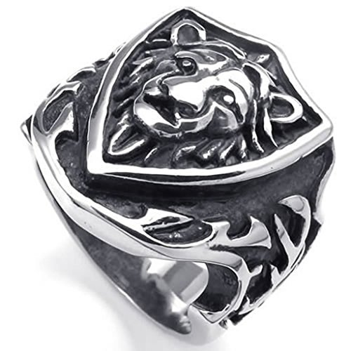 bishilin-stainless-steel-fashion-jewelry-mens-rings-hield-biker-gothic-lion-retro-size-r-1-2silver