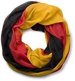 styleBREAKER Schal im Deutschland Flaggen Design 01017013, Variante:Schal/Tuch