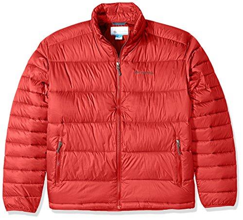 Columbia Herren Daunen, Oberbekleidung, Mantel - rot - -