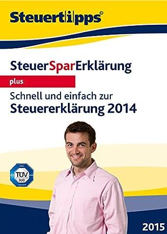 SteuerSparErklärung plus 2015 (für Steuerjahr 2014) [Download]